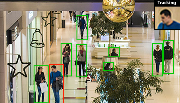 Surveillance: People, Face, & Vehicle Detection & Tracking Software