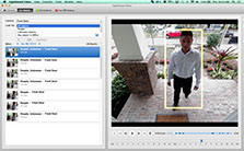 Smart Video Surveillance Software for Mac | Detect people